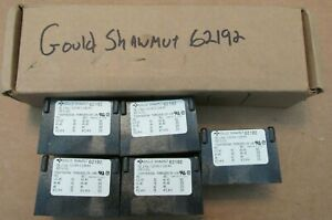 New Nos Lot Of 5 Gould Shawmut 62192 Power Distribution Block 2 Pole 600 Volts