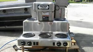 Bunn Commercial Coffee Maker Crtf5 35 5 Warmers