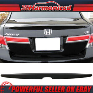 Fits 2008 2012 Honda Accord Abs Unpainted Rear Trunk Spoiler 4dr