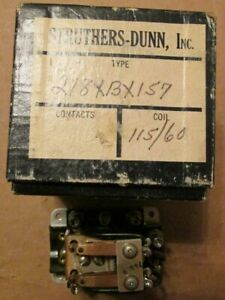New Nos Struthers Dunn 218xbx157 Armature Relay 115 Volts 60 Cycles