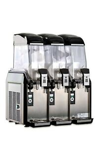 Elmeco Fcm 3 Millennium Frozen Beverage Granita Slush Machine
