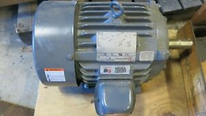 Emerson H10p2b 10 Hp 3 Phase Electric Motor Used