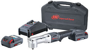 Ingersoll Rand 20v Iqv 3 8 Right Angle Impact Wrench Kit 180ft Lbs Ir W5330 K22