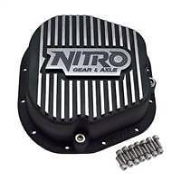 Nitro Differential Cover Ford 10 25 10 5 Finned Aluminum Heavy Duty Rust Proof