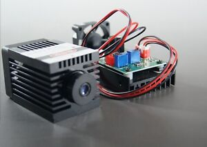 Focusable 850nm 1000mw Ir Laser Module carving burning ttl