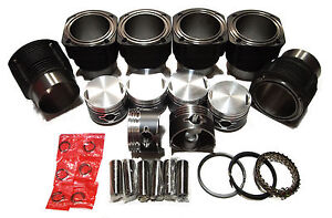 Qsc Porsche 911 86mm Cylinders Pistons Set