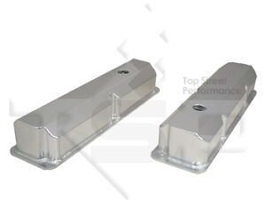 Valve Covers Big Block Ford Fe Fabricated Polished Aluminum 390 352 360 427 428