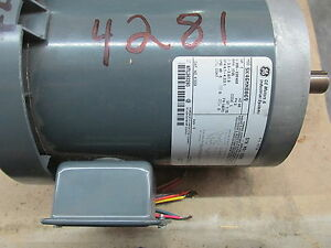 Ac Electric Motor 1 Hp 1725 Rpm 208 230 460v 143tc Fr Tefc