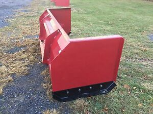New Quality 10 Snow Pusher Box Blade For Skidsteer tractor Low Cost Shipping