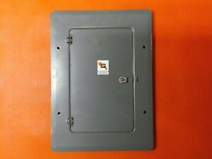 Used 100 Amp Pushmatic Electri center Panel Cover 28 Space