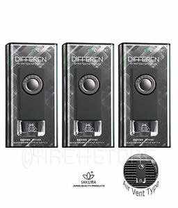 3 Pack Luxury Jdm Vent Clips Treefrog Differen Air Freshener Black Squash Scent