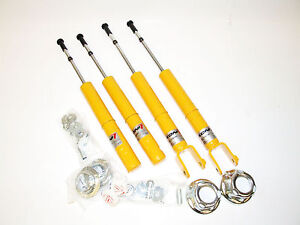 Koni Sport Yellow Shocks For 96 00 Honda Civic Ek front rear Set