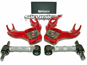 Skunk2 Pro Alignment Camber Kits 94 01 Integra Dc2 92 95 Civic Eg front rear