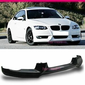 Fits 07 10 Bmw E92 335i 328i Coupe 2dr Pu Front Bumper Lip Bodykit A Style