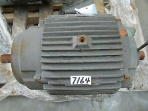 Ac Electric Motor 20 Hp 3510 Rpm 230 460v 3 60 256tc Fr Tefc