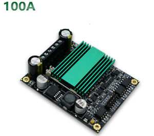 100a Dc Motor Drive Module High Power Motor Speed Control Dual Channel H bridge