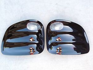 Custom 00 03 F150 Flareside Smoked Tail Lights Oe Black Tinted Non Led Lamps