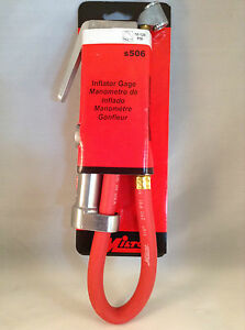 Milton S506 Dual Head Window Inflator Gauge W 15 Air Hose 506 Bayonet