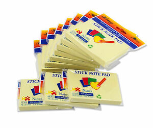 3 X 2 Inches Yellow Sticky Note For Home Office 100 Sheet pad 11 pad pack