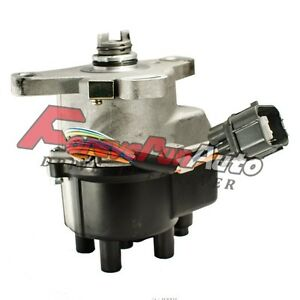 Ignition Distributor With Rotor Cap For Honda Civic Acura 1 6l 1 8l 1996 2001