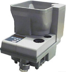 American Changer Cc 302 Portable Compact Coin Counter With 1800 Hopper