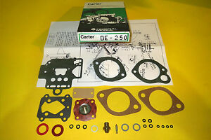 Genuine Nos Carter Federal Mogul Dellorto Dhla Carburetor Repair Kit
