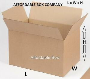 10 X 10 X 10 10 Cube 25 Corrugated Shipping Boxes local Pickup Only Nj