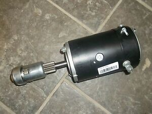 Brand New Ford Tractor 2n 8n 9n Starter With Drive Bendix 6v Or 12v