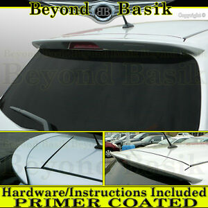 For 2012 2015 2016 2017 2018 Toyota Yaris Hatchback Factory Style Spoiler Primer