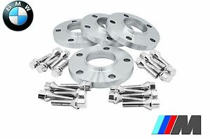 Bmw Hub Centric Wheel Spacers Staggered Kit 5x120 2 15mm 2 20mm W Bolts
