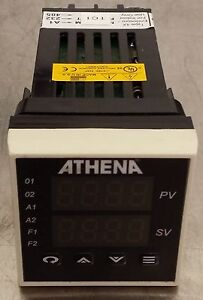 Athena 16 jc s y 10 ac Temperature Controller 0 750c 110 220v Rtd Pid Tc Linear