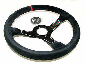 Sparco Steering Wheel L575 350mm 63mm Dish suede