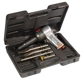 Chicago Pneumatic 498 Super Duty Air Hammer Kit With Chisels Cp 717k