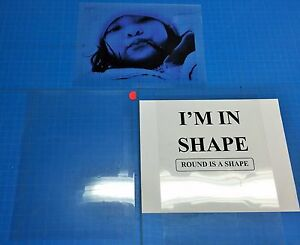 Premium Transparency Film Inkjet Paper Pack Of 15 Sheets 8 5x11 ships Fast