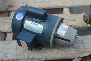 Leeson Motor For A Liquid Pump 1 2hp
