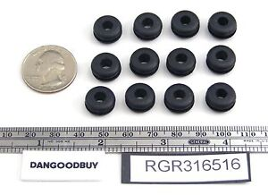 200 Rubber Grommets 3 16 Inner Diameter Fits 5 16 Panel Hole