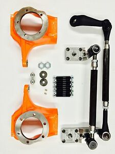 Chevy ford jeep Kingpin Dana 60 Complete 1 ton Crossover Steering Kit w Knuckle