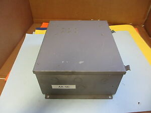 Wiegmann N 12 Continous Hing Enclosure W Back Panel Missing Knockouts