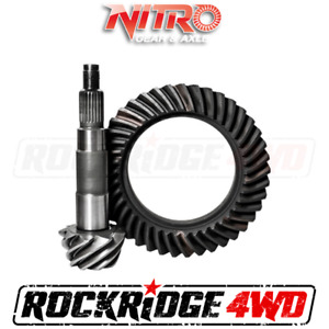 Nitro Ring And Pinion Toyota 7 5 Reverse Tacoma Ifs 5 29 Ratio Prado 90 4runner