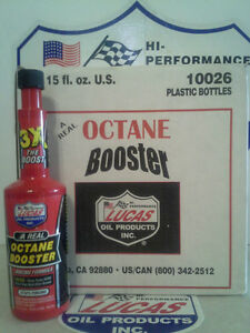 Lucas Oil Octane Booster 10026 12 X 15fl Oz case Made In Usa