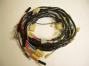 1955 Chevrolet Belair 210 150 Under Dash Front Light Wiring Harness W generator