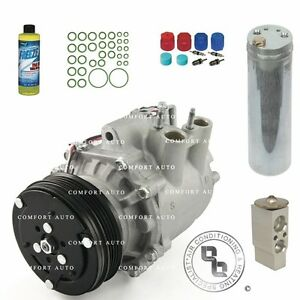 New Ac A c Compressor Kit Fits 2003 2004 2005 Honda Civic 1 3l Hybrid Electric