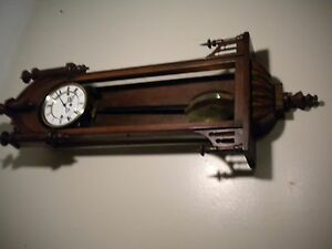 Three Weight Vienna Regulator Circa 1810 Unsigned Work Of Art Original