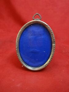 Sterling Silver Oval Picture Frame 363