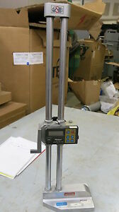 Mitutoyo Height Gage 0 18 Inch Stock T123