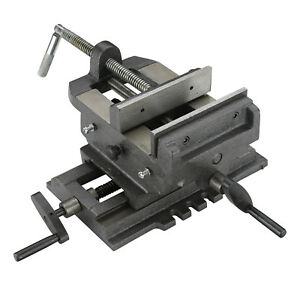 Cross Slide Vise 4 Inch Wide Drill Press X Y Clamp Milling Heavy Duty