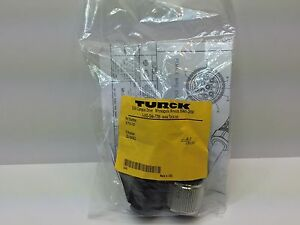 Sealed New Turck Multi fast Field Wireable Connector B7191 0 21 B7191021
