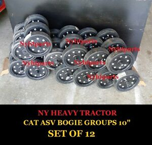 Caterpillar Bogie Gp Set Of 12 267 267b 277 277b 287 287b Cyc Mdh Cnc Cmp Cat