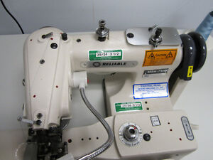 Reliable Msk 755 Industrial Blindstich Machine Commercial Sewing With Table