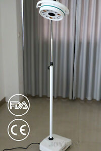 36w Led Mobile Surgical Medical Exam Light Ac Shadowless Lamp Us Shipping Fda